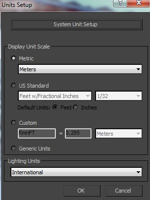 3DS Max: Working with correct system unit scale - ArtasMedia